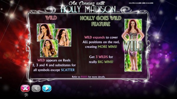 An Evening with Holly Madison by Casino Codes