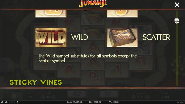 Wild and Scatter Symbol Rules by Casino Codes