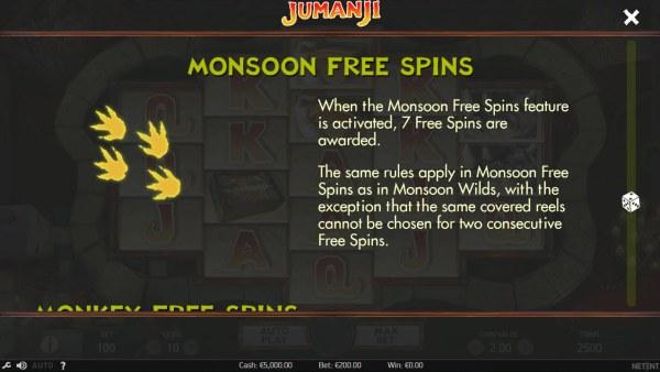 Casino Codes image of Jumanji