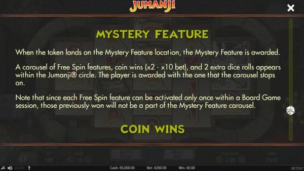 Jumanji by Casino Codes