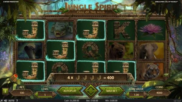 Casino Codes image of Jungle Spirit Call of the Wild