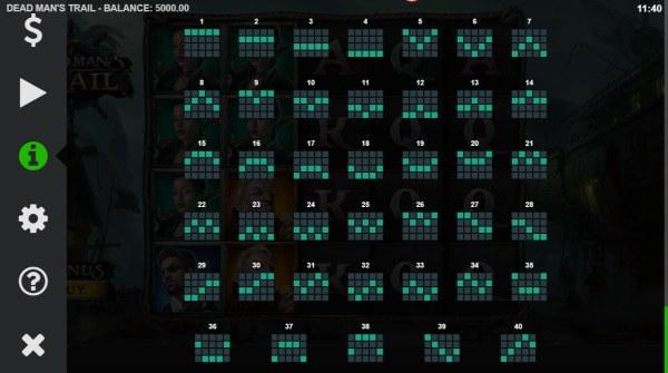Casino Codes image of Dead Man's Trail