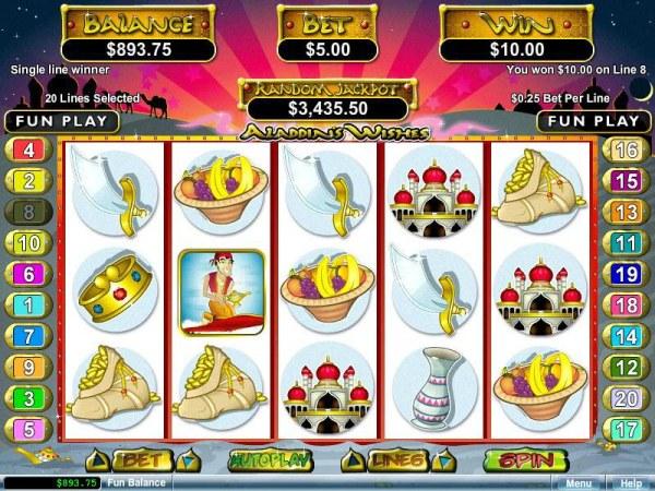 Single line winner. - Casino Codes
