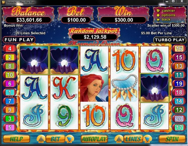 Mermaid Queen by Casino Codes