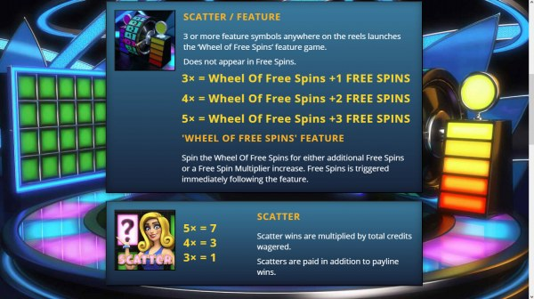 Casino Codes - Scatter Symbol Rules