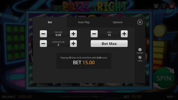 The Prize is Right by Casino Codes