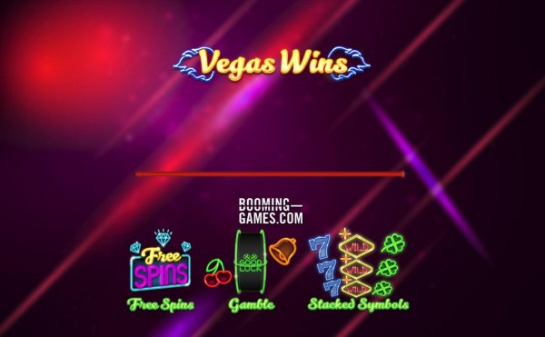 Game features include: Free Spins, Gamble and Stacked Symbols - Casino Codes