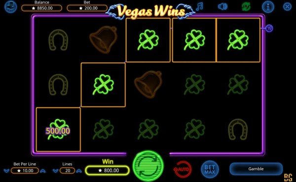 Images of Vegas Wins
