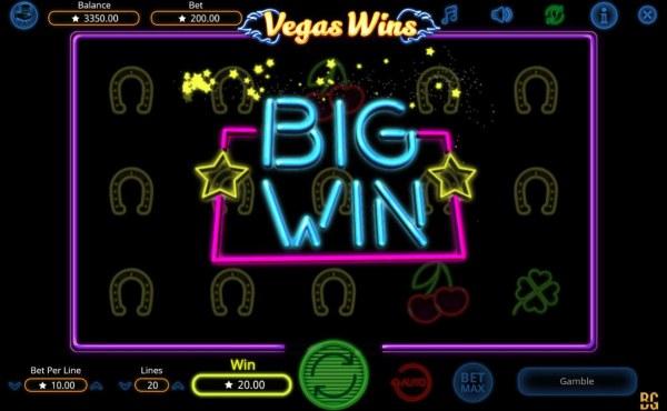 Vegas Wins screenshot
