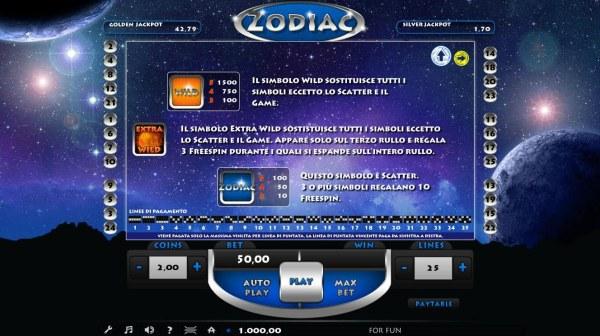 Zodiac screenshot