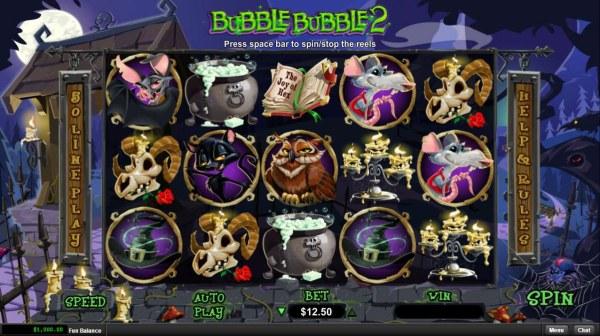 Casino Codes image of Bubble Bubble 2