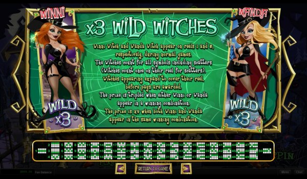 Wild Witches Rules - Casino Codes