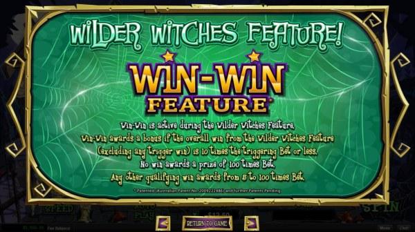 Casino Codes - Win-Win Feature Rules
