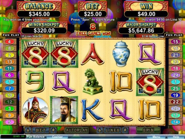 Free spins feature triggered by three scatter symbols - Casino Codes
