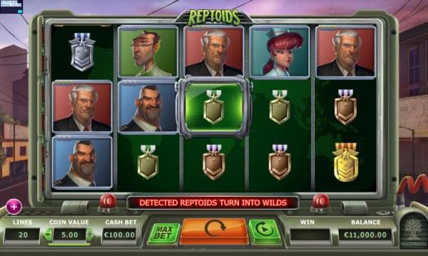 Casino Codes image of Reptoids