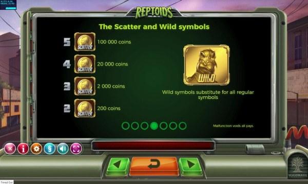 Reptoids by Casino Codes