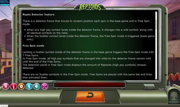 Reptoids screenshot