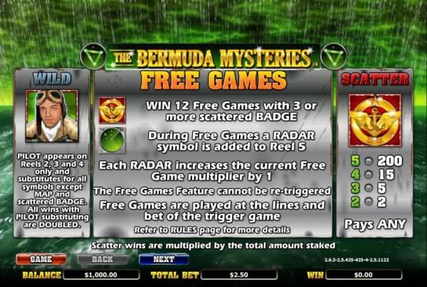 The Bermuda Mysteries screenshot