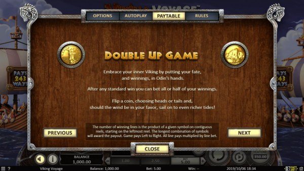Gamble Feature Rules - Casino Codes