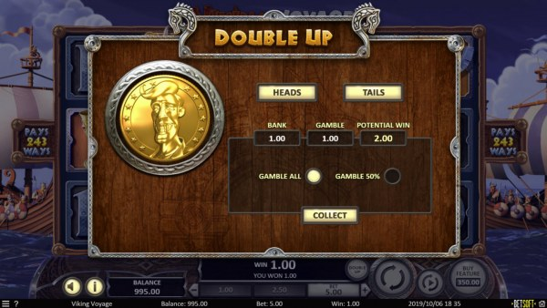 Casino Codes - Double Up Feature