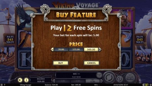 Casino Codes - Buy Feature