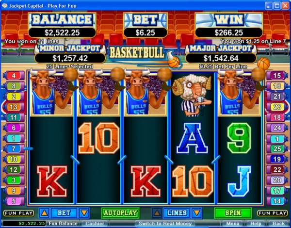Casino Codes image of Basketbull