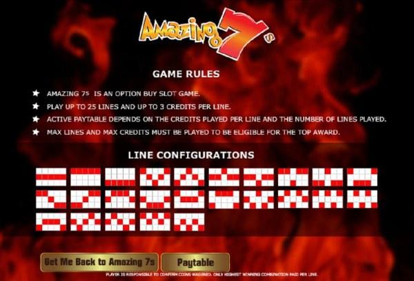 Amazing 7's by Casino Codes