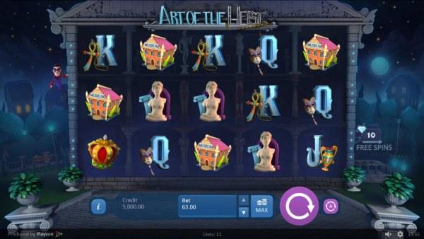 Casino Codes image of Art of the Heist