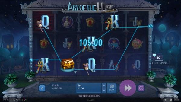 Art of the Heist by Casino Codes