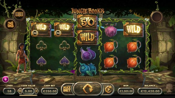 Casino Codes - A 2000 credit big win triggered