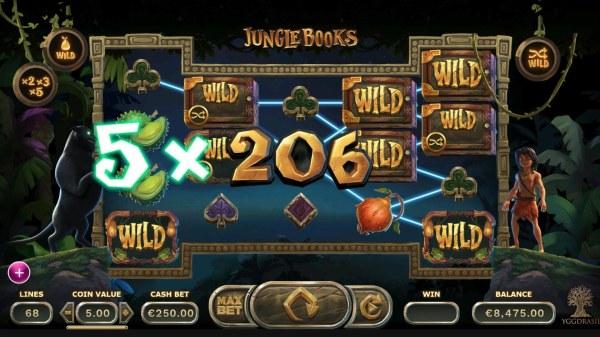 Jungle Books by Casino Codes