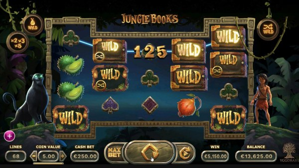 Wild symbols trigger multiple winnng paylines by Casino Codes
