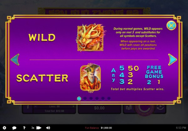 Casino Codes - Wild and Scatter Symbol Rules