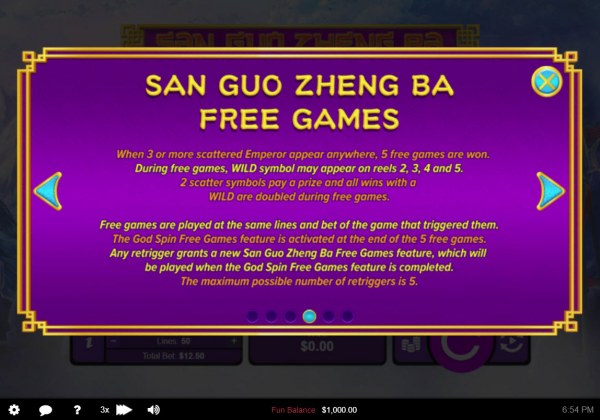 San Guo Zheng Ba screenshot