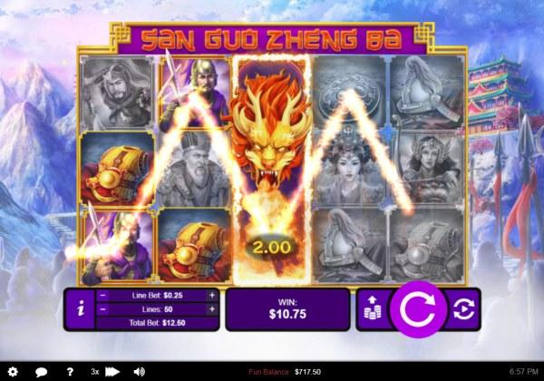 San Guo Zheng Ba by Casino Codes