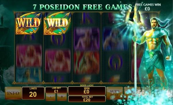 Poseidon Free Games Board - Casino Codes