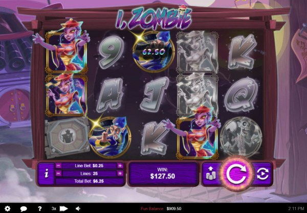 Multiple winning paylines triggers a big win - Casino Codes