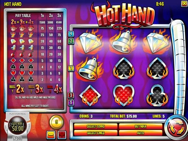 Casino Codes image of Hot Hand