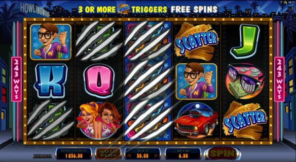 Winning symbols are removed and replaced with new symbols - Casino Codes