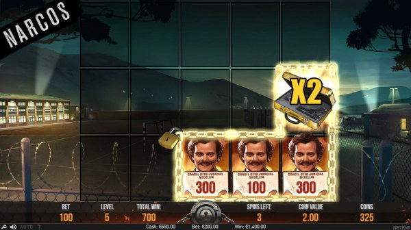 X2 multiplier awarded by Casino Codes