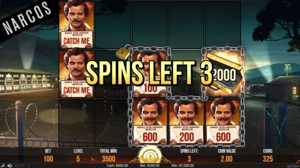Casino Codes - An additional 3 spins awarded