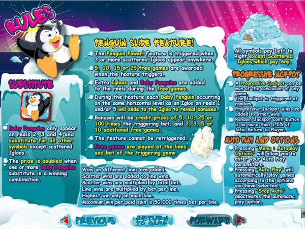Casino Codes image of Penguin Power