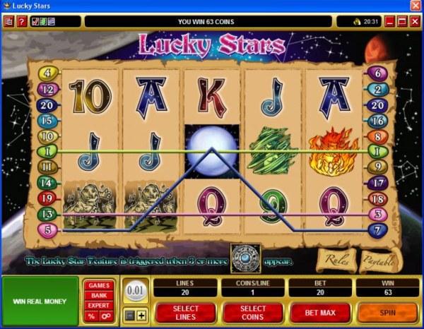 Casino Codes image of Lucky Stars