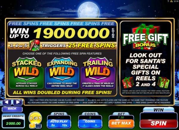 Casino Codes image of Santa's Wild Ride