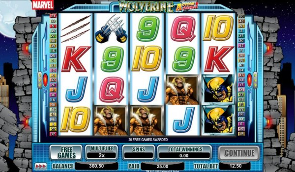 Casino Codes image of Wolverine Action Stacks