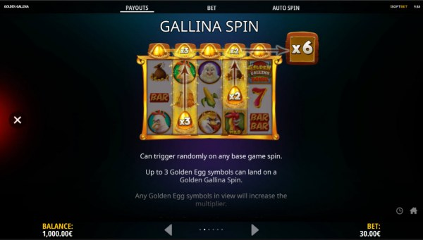 Casino Codes - Feature Rules