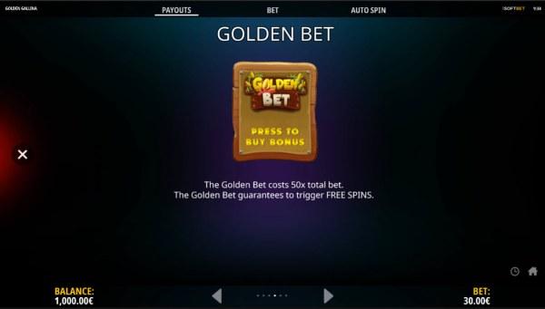 Golden Gallina screenshot