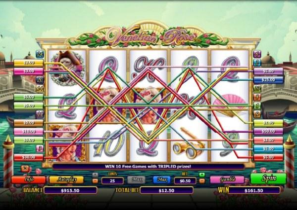 Casino Codes image of Venetian Rose