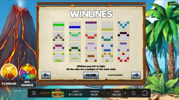 Winfall in Paradise screenshot