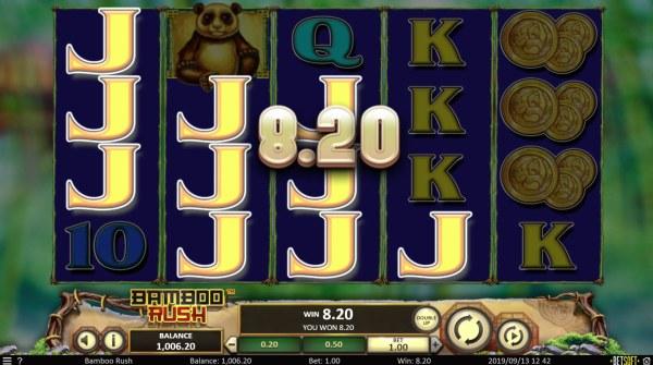 Bamboo Rush by Casino Codes